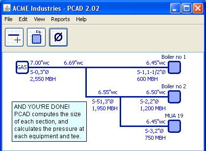 Pcad Program For Sizing Natural Gas Lines